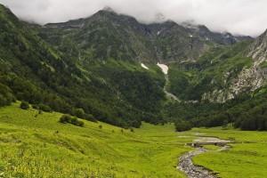 Faire du canyoning le long de l'Alcanadre et ses affluents